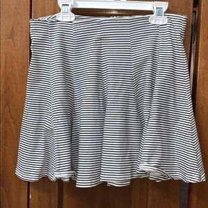 American eagle striped skirt